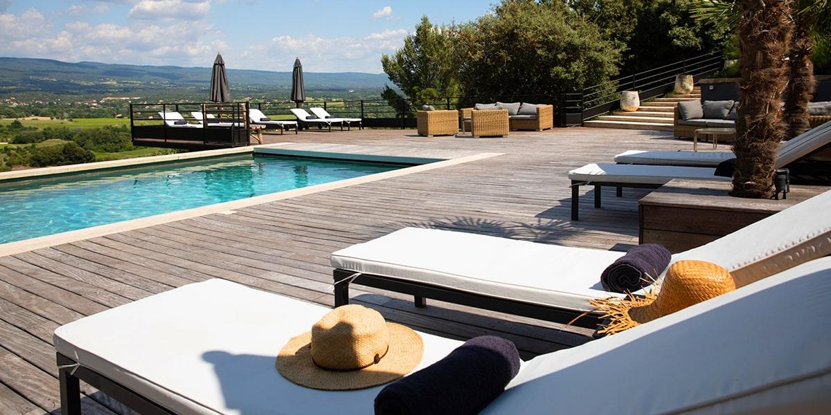 Hotel de charme avec piscine - Venez admirer le Mont Ventoux