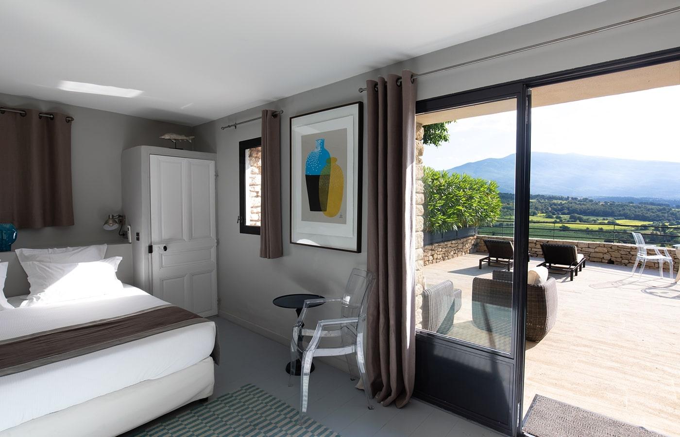 Hotel de charme avec vue sur le Mont Ventoux