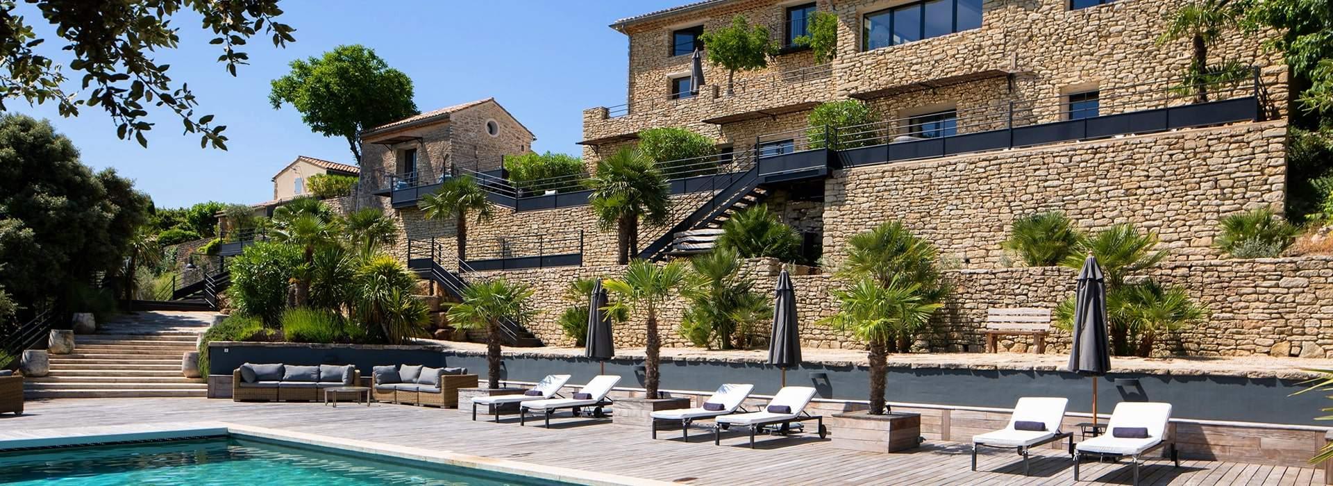 La Maison de Crillon - Hôtel avec piscine - Crillon-le-Brave