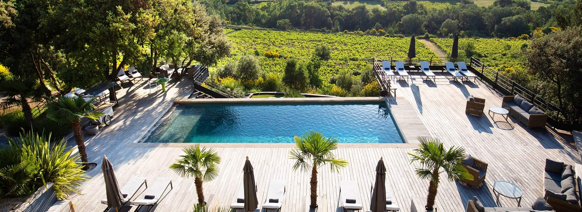 Hôtel de charme avec piscine Crillon-le-Brave Mont Ventoux