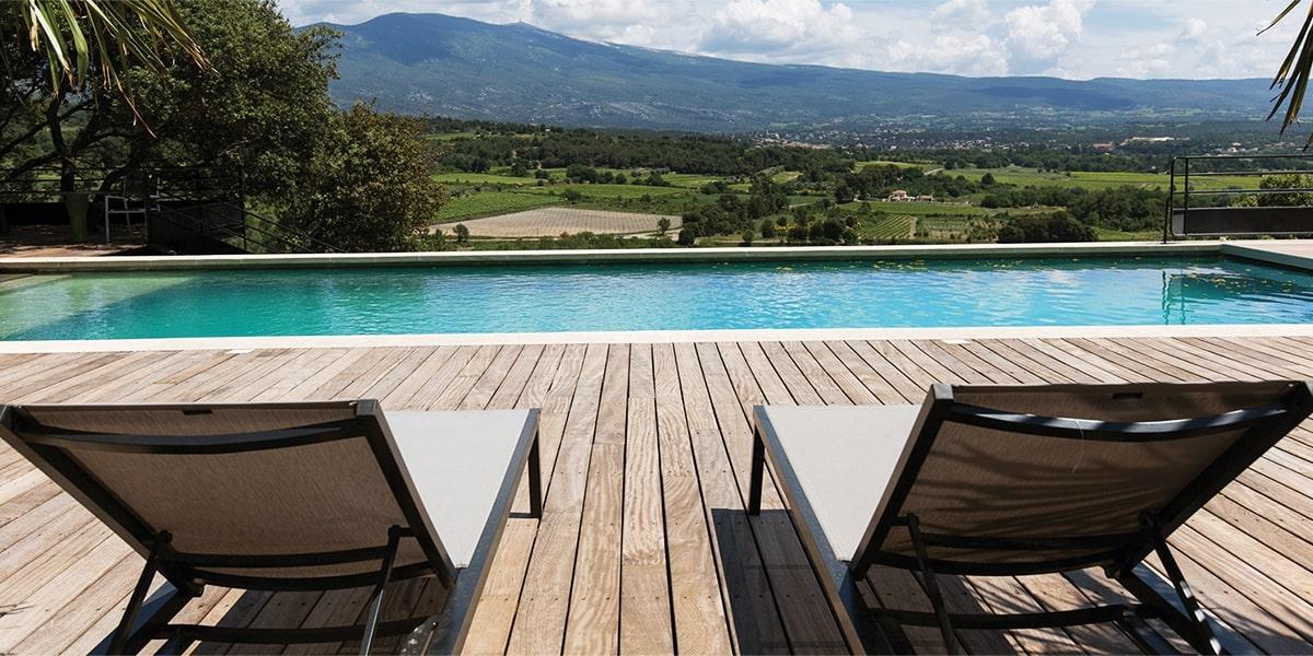 Hotel de charme avec piscine - Admirez le Mont Ventoux
