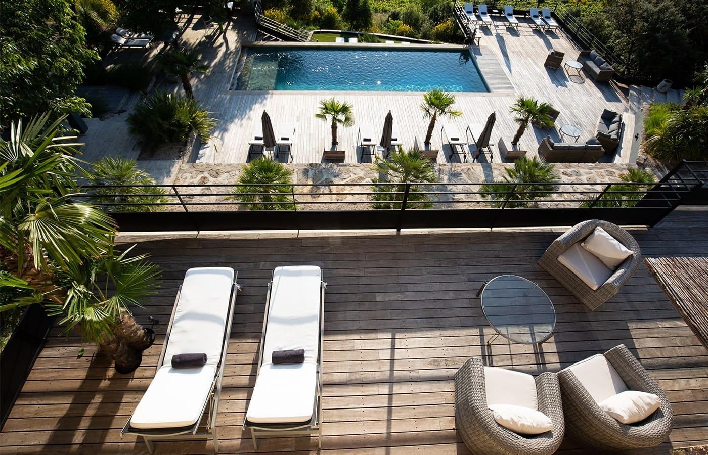 Hotel de charme avec piscine - Mont Ventoux