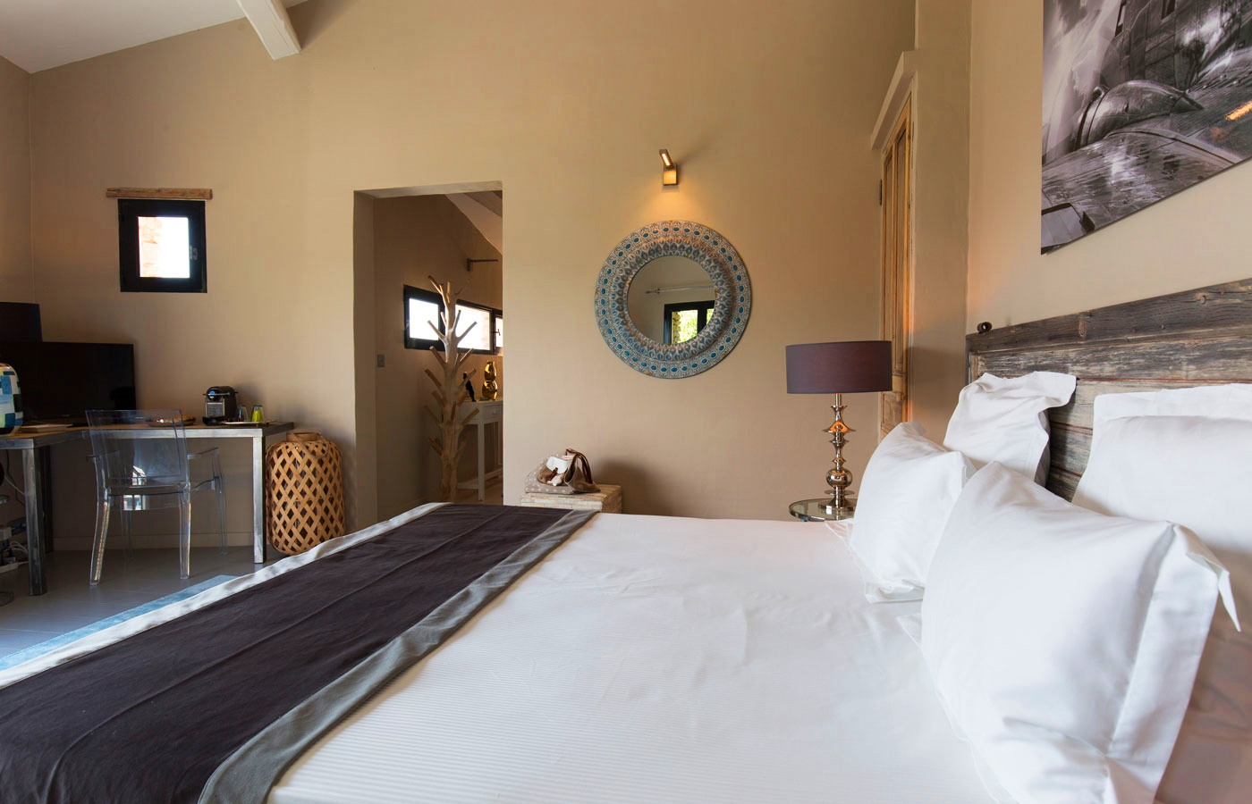 hôtel au pied du Mont Ventoux