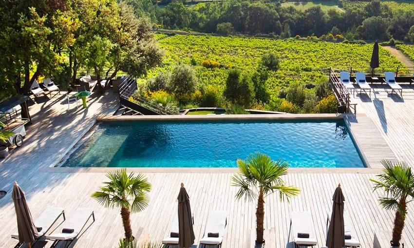 Hôtel de charme avec piscine, Mont Ventoux, Vaucluse