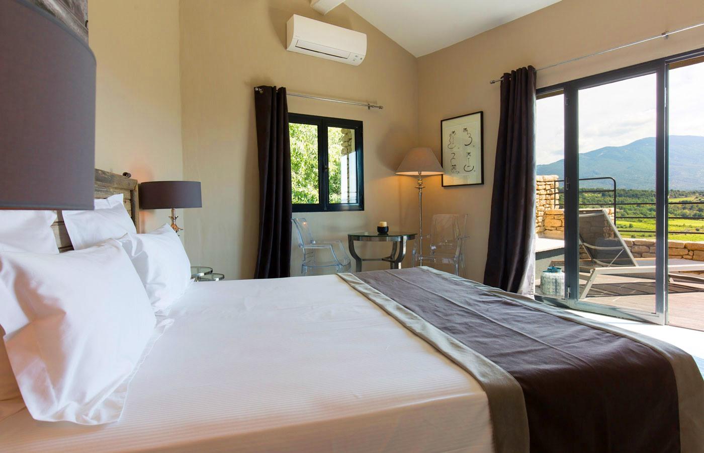 Hôtel avec vue sur le Mont Ventoux